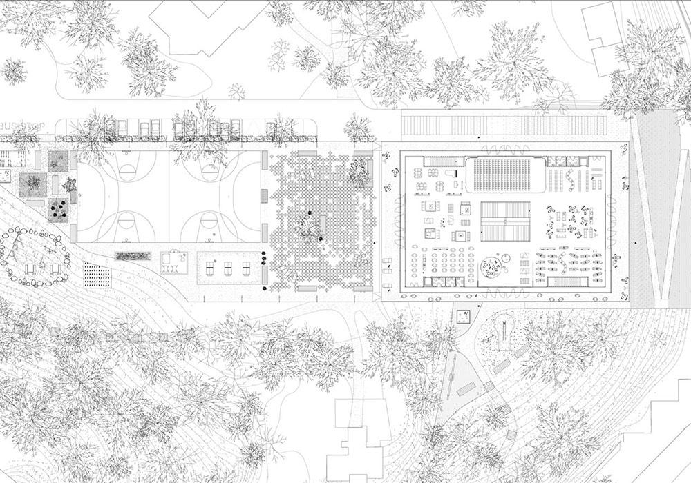004 primarschule riethueslie plan 03 fakt. Black Bedroom Furniture Sets. Home Design Ideas